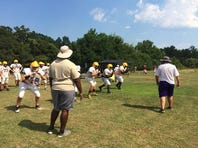 Jones Co. searches for O-Line replacements in camp