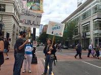 'Shell No' protesters call Obama a hypocrite