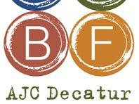 AJC Decatur Book Festival mascot Bookzilla