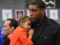 Devon Still and his daughter Leah