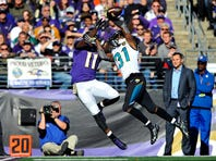 <<enter caption here>> at M&T Bank Stadium on November 15, 2015 in Baltimore, Maryland.