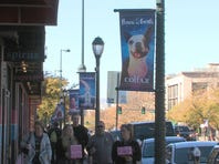 Colfax banners feature members of the community