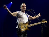 British singer Sting performs during a concert at the Ziggo Dome in Amsterdam on July 3, 2012.  (PAUL BERGEN/AFP/GettyImages)