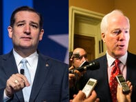 When John Cornyn was installed as U.S. Senate majority whip in January, he was optimistic that his party's takeover of the chamber would translate into harmony between the establishment wing of the GOP that he represents and the Tea Party wing that includes his junior senator from Texas, Ted Cruz.