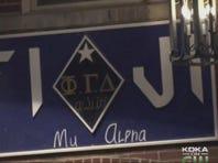 Phi Gamma Delta prank left W. Virginia student bound in trunk