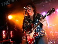 Brittany Howard of the Alabama Shakes performs during the MTV Hive Live in NYC Show.