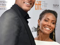 """TORONTO, ON - SEPTEMBER 09:  Producer Will Smith and actress Jada Pinkett Smith attend the """"Free Angela & All Political Prisoners"""" premiere during the 2012 Toronto International Film Festival at Roy Thomson Hall on September 9, 2012 in Toronto, Canada.  (Photo by Alberto E. Rodriguez/Getty Images)"""