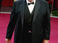 Actor George Kennedy attends the 75th Annual Academy Awards at the Kodak Theater on March 23, 2003 in Hollywood, California.