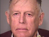 Nevada Rancher Cliven Bundy, 74, is shown in a booking photo after his arrest in Portland by the FBI on Feb. 10, 2016.