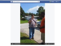 In a video posted to Facebook by Scotty Jordan, Pinellas County Environmental Specialist Joe Graham tells Jordan he needs to better contain his BBQ smoke after one neighbor complains 14 times.