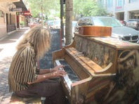 Viral video of piano player sparks help for homeless