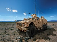 Oshkosh's M-ATV 6x6