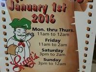 Luigi's restaurant in Akron.