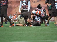 Injuries continue to plague the Cleveland Browns as they go through training camp.