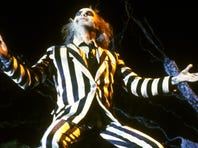 Michael Keaton in a scene from the motion picture Beetlejuice.