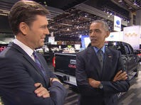 President Obama talks with CBS News reporter Lee Cowan about his eight years in office.