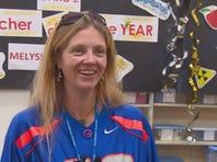 Melyssa Ferro is Idaho's 2016 Teacher of the Year award winner.