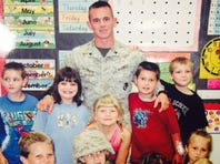 Veteran saves letters from first graders