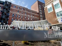PORTLAND, ME - OCTOBER 14: Exterior view of Maine Medical Center in Portland.