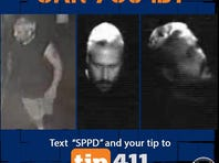 St. Petersburg police are searching for a man who burglarized Ferg's Sports Bar in St. Petersburg.