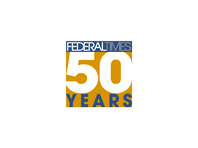 FEDERAL TIMES 50 YEARS LOGO 1500