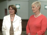 Senator Amy Klobuchar, Cindy McCain fight sex trafficking