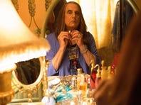 Jeffrey Tambor as Maura Pfefferman in a scene from Amazon's 'Transparent,' a multiple Emmy nominee.