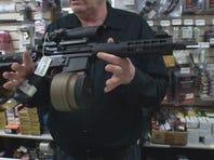 Gun store customers citing Paris terrorist attacks