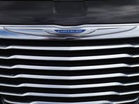A Chrysler automobile is seen on the sales lot at the Hollywood Chrysler Jeep car dealership