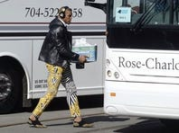 Jan 24, 2016; Charlotte, NC, USA; Carolina Panthers quarterback Cam Newton (1) dabs during the fourth quarter against the Arizona Cardinals in the NFC Championship football game at Bank of America Stadium. Mandatory Credit: Jason Getz-USA TODAY Sports