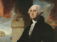 """Jan. 8, 1790: George Washington gives the first State of the Union Address: """"The welfare of our country is the great object to which our cares and efforts ought to be directed, and I shall derive great satisfaction from a cooperation with you in the pleasing though arduous task of insuring to our fellow citizens the blessings which they have a right to expect from a free, efficient and equal government."""""""