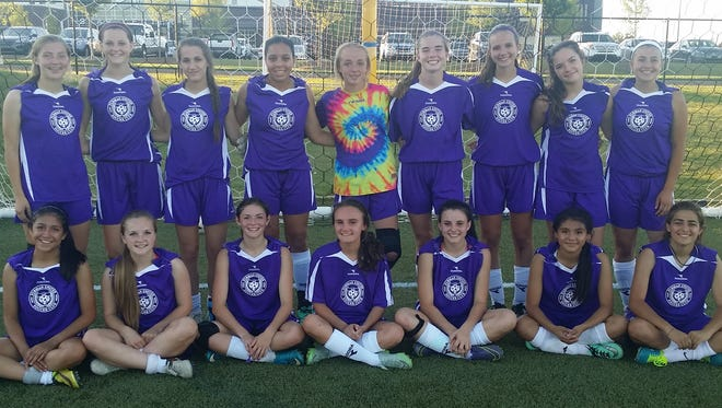 The Furman United Soccer Club 99G Purple soccer team