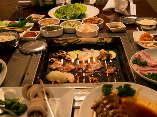 Korean barbecue is becoming more popular at Origami.