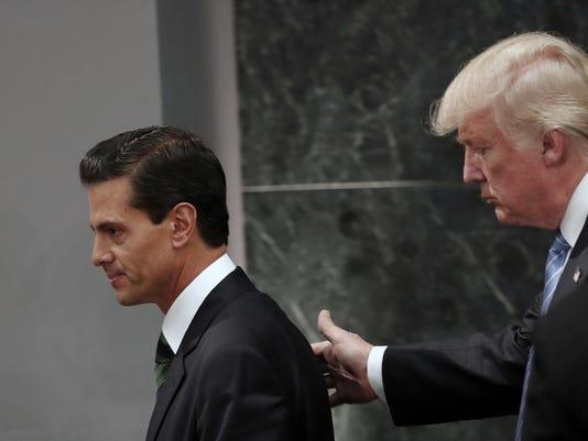 Donald Trump, Enrique Pena Nieto