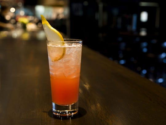 Pear Pomegranate Cooler from Thirsty Lion Gastropub