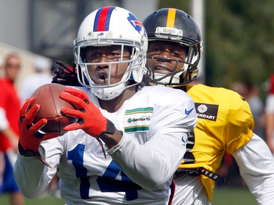 Steelers Bills Camp Football