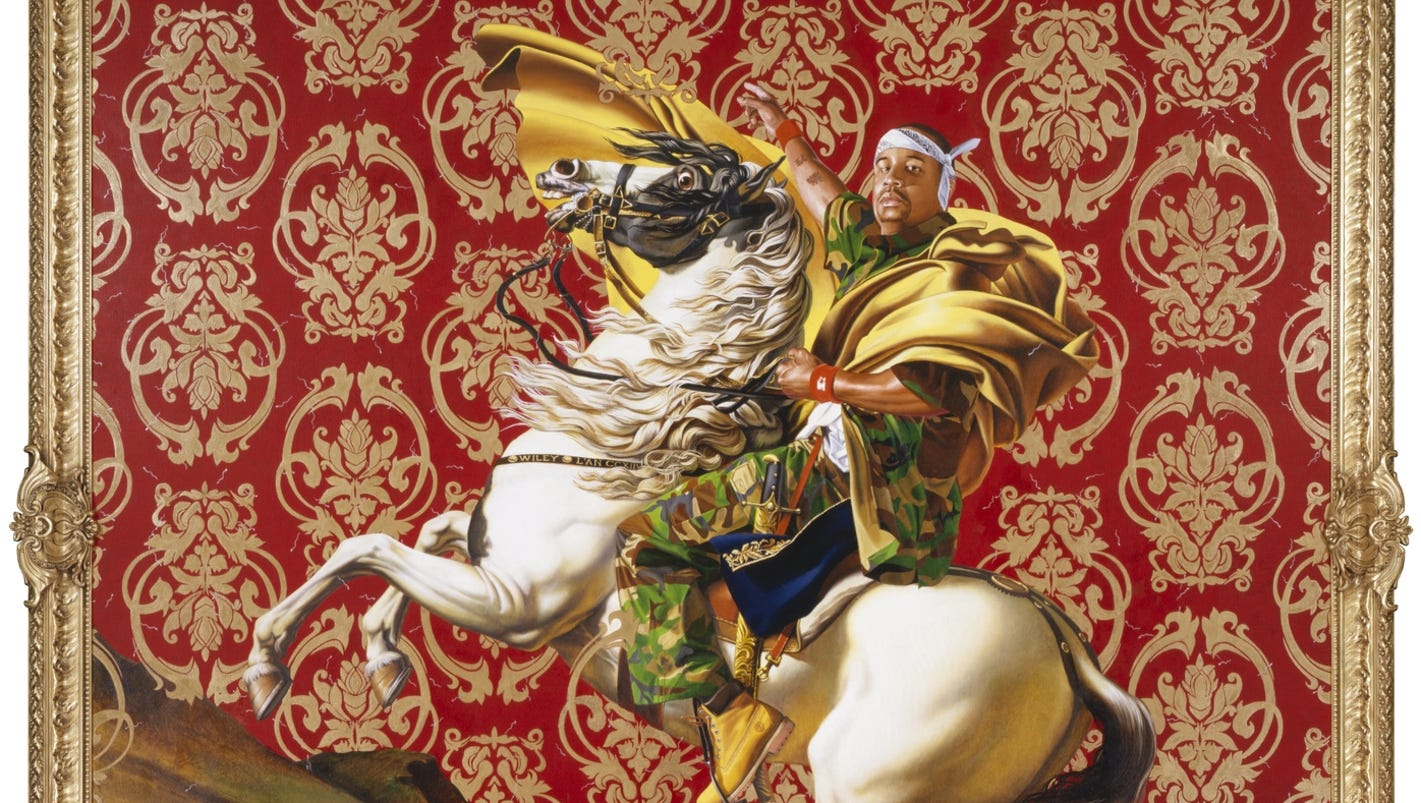 Kehinde Wiley S Art Brings Color To The Old Masters In More Ways Than One