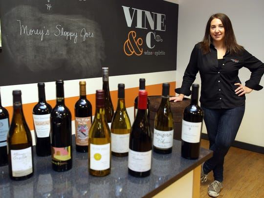 Jen Lucia, wine director at Vine & Co. in Bedford Hills, has been the wine expert in residence for the past 12 weeks.