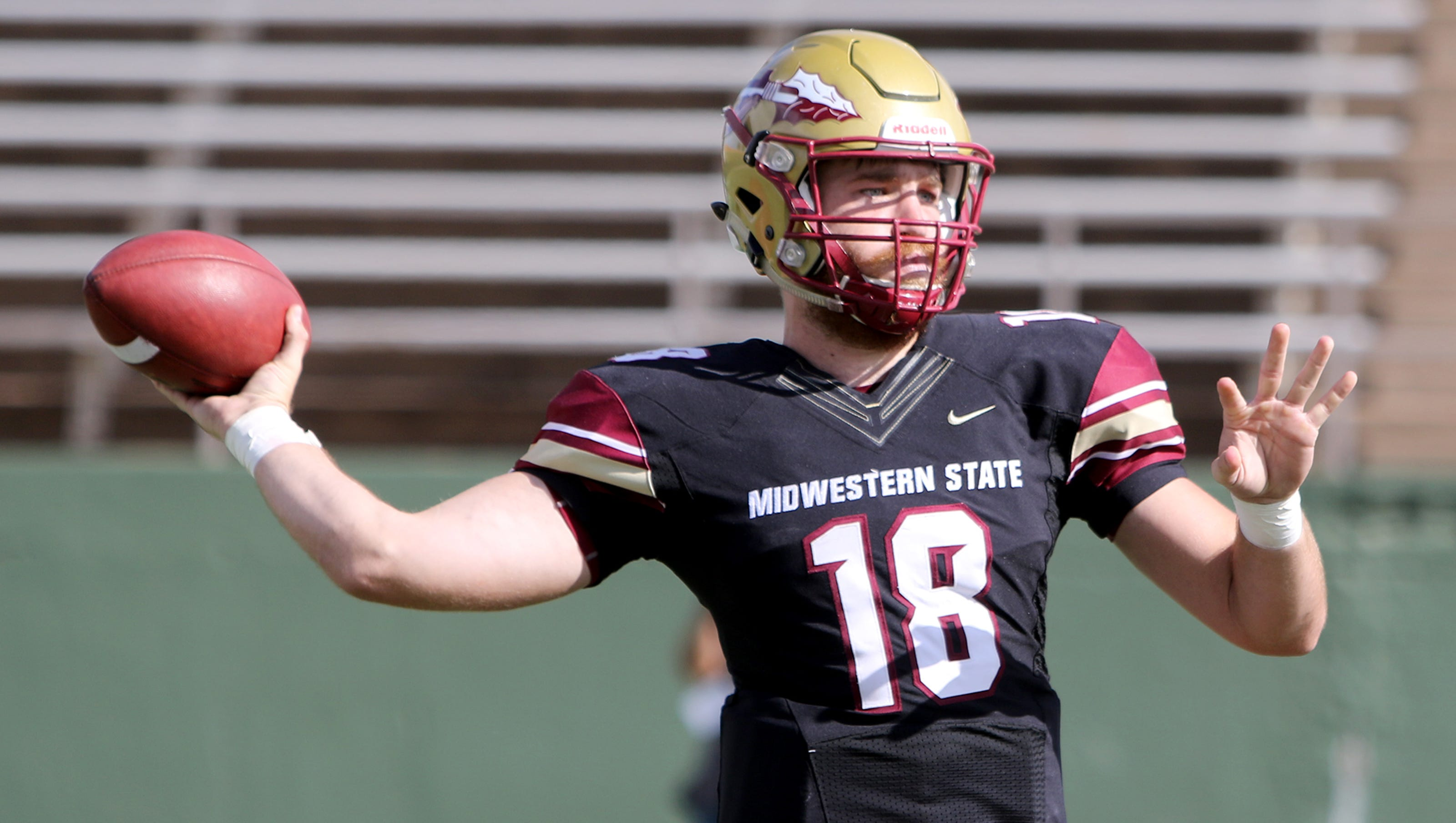 Midwestern State Football Among Favorites In 2018 Lone Star Conference