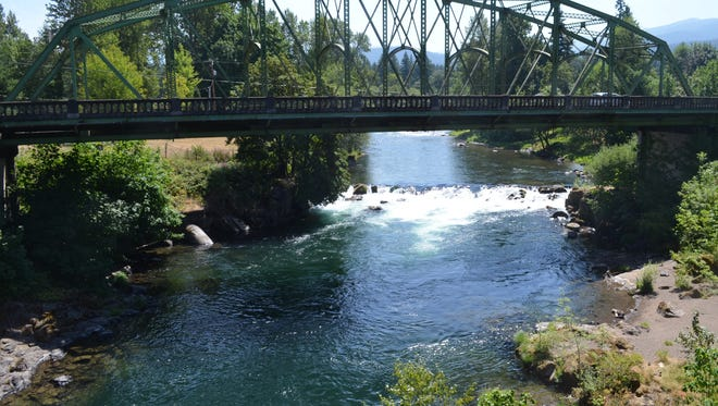 Fishing on the North Santiam should improve this week as the river drops.