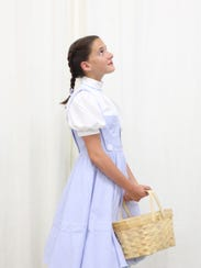 """Macie Molter plays Dorothy Gale in  """"The Wizard of"""
