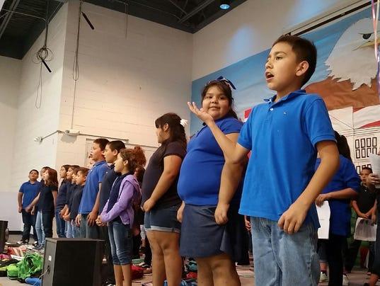Mesquite Elementary School kids
