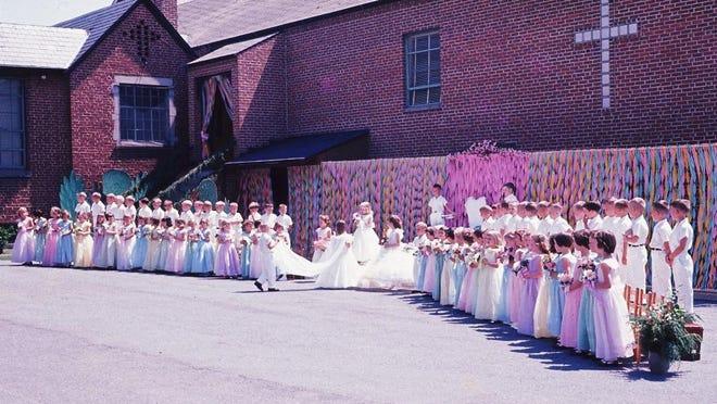 Bethany Lutheran May Day, 1964.