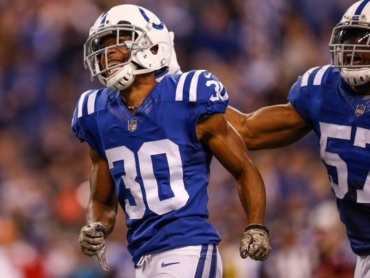 The Colts are willing to let cornerback Rashaan Melvin test the open market.