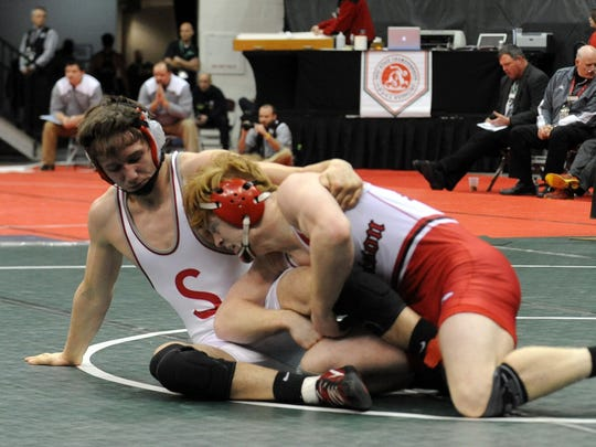 Shelby's Brahm Ginter won 44 matches last season en route to a seventh-place medal at the state tournament.
