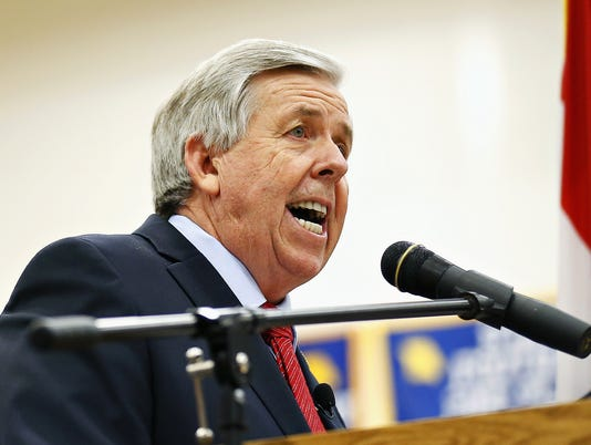Mike Parson, Missouri Governor