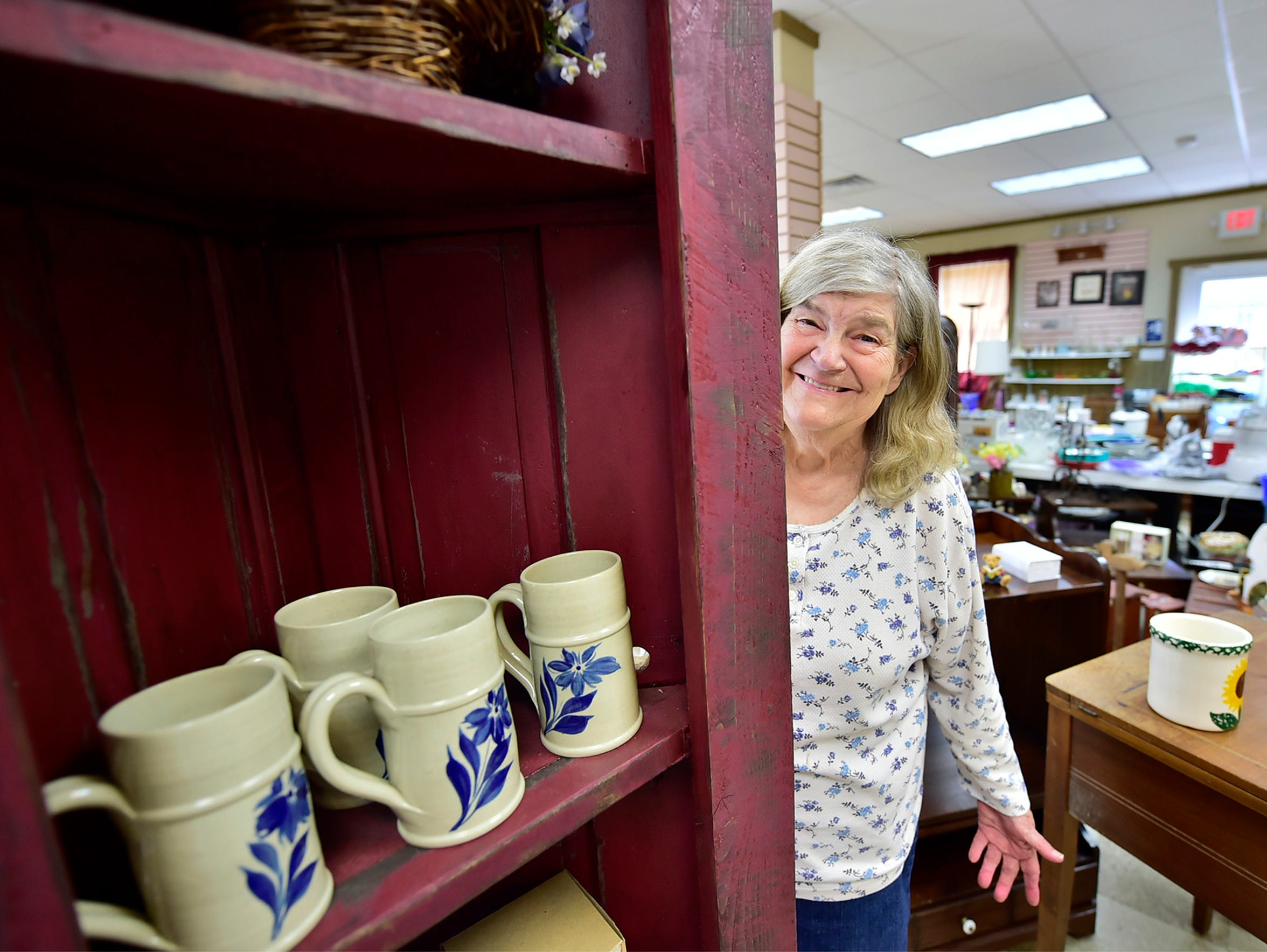 Ruth Mowen is the owner of Upscale Consignment shop,