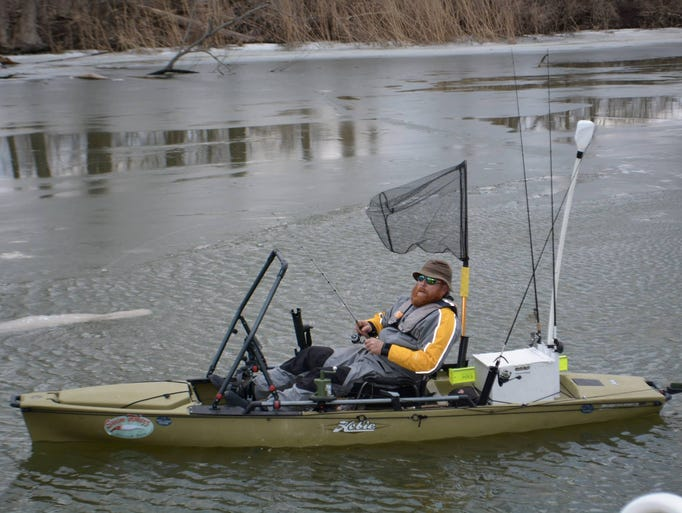 The appeal of kayak fishing for Fishing kayak for big guys