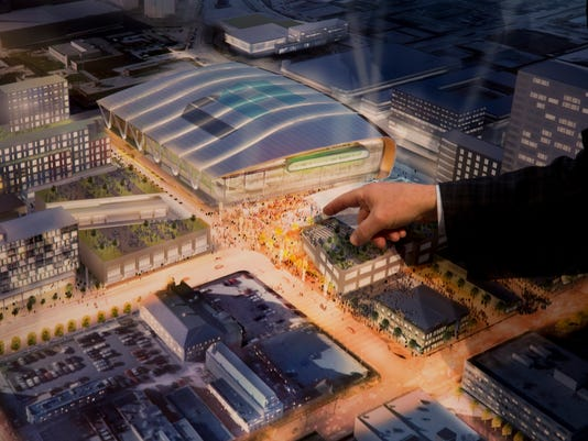 Bucks Arena Proposal