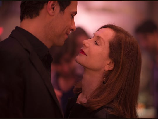 Laurent Lafitte as Patrick and Isabelle Huppert as